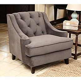 Abbyson Living® Emily Velvet Armchair