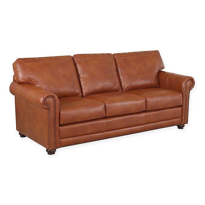 Klaussner Leather Sofa Review: Klaussner® Sherman Sofa