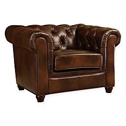 Abbyson Living® Arcadian Leather Arm Chair