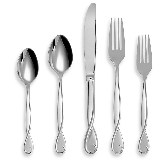 Alternate image 1 for kate spade new york Belle Boulevard™ 5-Piece Flatware Place Setting