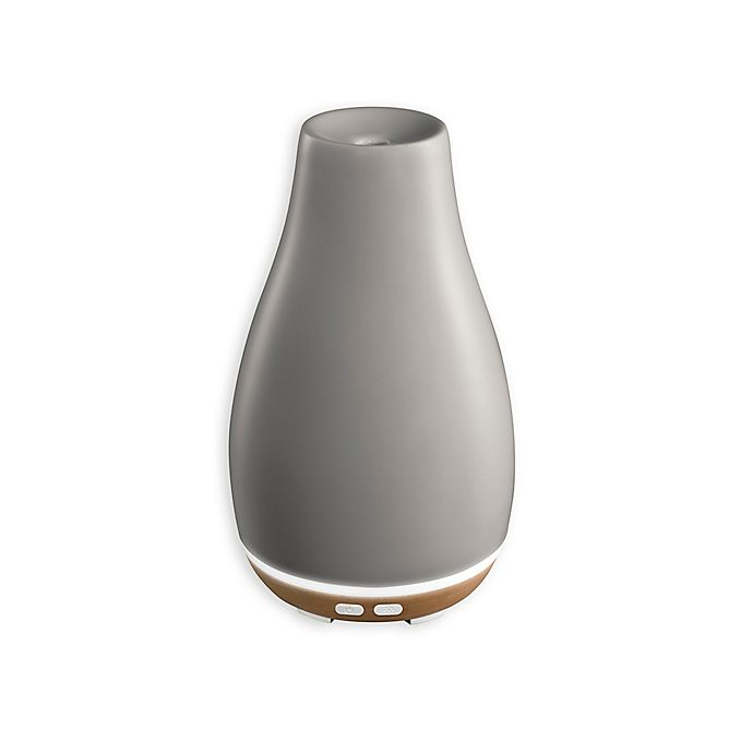 Alternate image 1 for HoMedics® Ellia™ Blossom Ultrasonic Aroma Diffuser in Grey