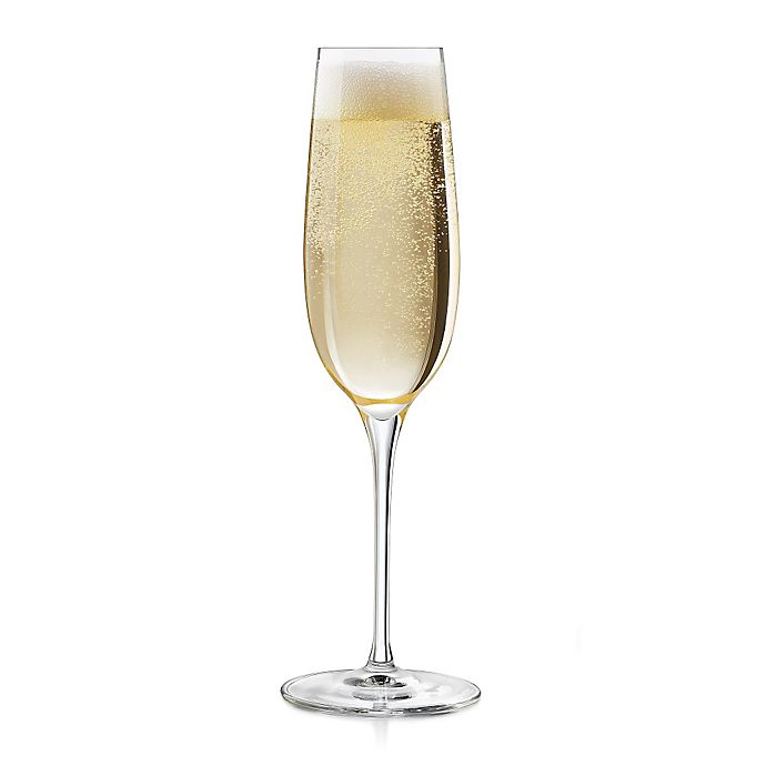 Alternate image 1 for Libbey® Glass Signature Kentfield Champagne Flutes (Set of 4)
