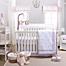 Part of the Petit Tresor Leila Crib Bedding Collection