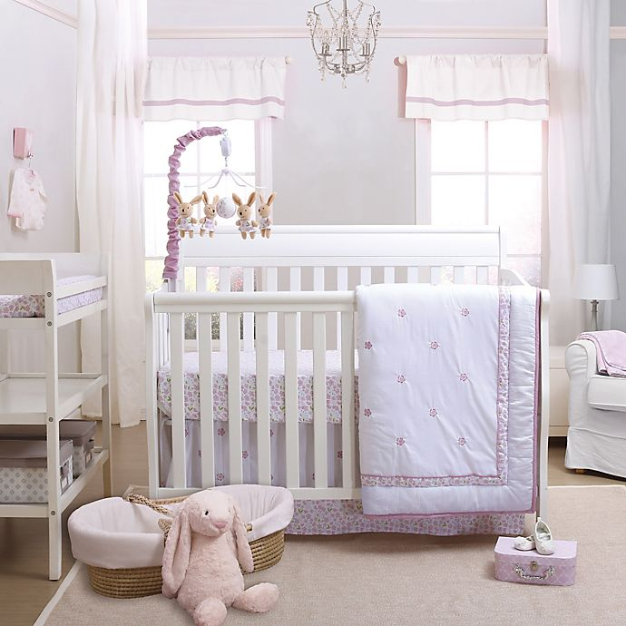Alternate image 1 for Petit Tresor Leila Crib Bedding Collection