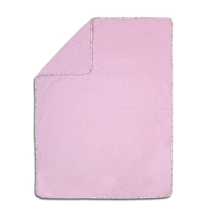 Alternate image 1 for Petit Tresor Leila Velour Blanket