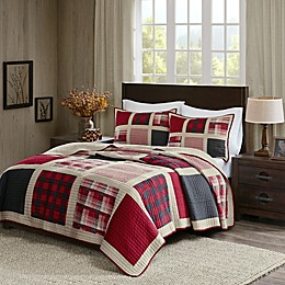 Woolrich® Huntington Reversible Quilt Set in Red