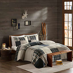 Woolrich® Winter Hills Reversible Quilt Set in Tan