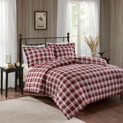 Woolrich 174 Tasha Flannel Duvet Cover Set Bed Bath Amp Beyond