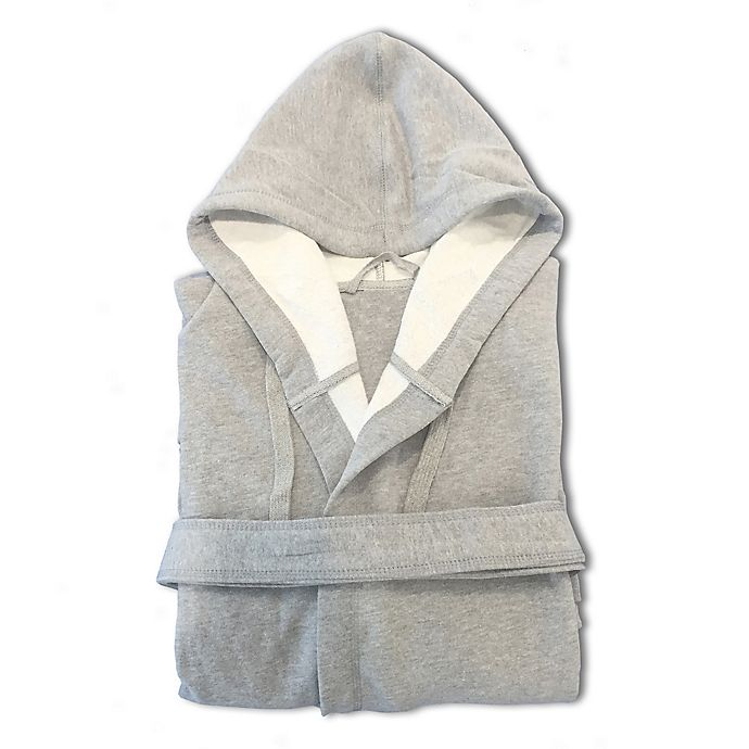 Alternate image 1 for T-Y Group Boxer Large Bathrobe in Grey