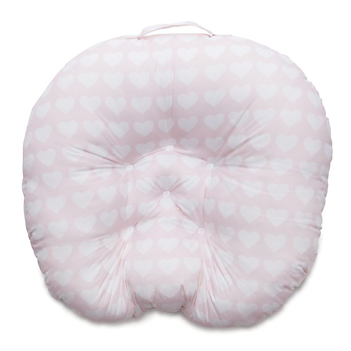 Alternate image 1 for Boppy® Newborn Lounger in Pink Hearts