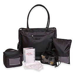 J.L. Childress jay elle Type A 6-Piece Breast Pump Bag in Black