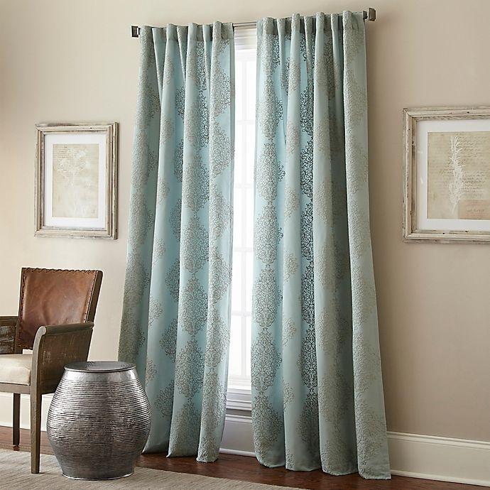 Alternate image 1 for Talia Rod Pocket/Back Tab Window Curtain Panel
