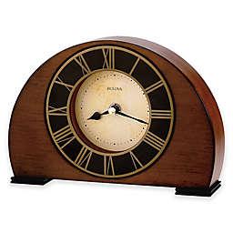 Bulova Tremont Table Clock in Antique Walnut