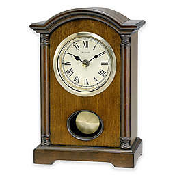 Bulova Dalton Table Clock in Walnut
