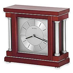 Bulova Amblance Table Clock in Wine