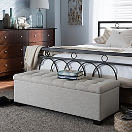 Excellent Storage Benches Ottomans Cubes Pouf Bed Bath Beyond Bralicious Painted Fabric Chair Ideas Braliciousco
