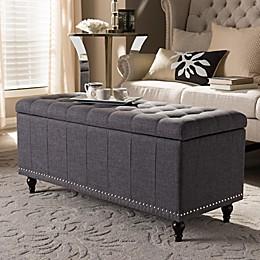 Kaylee Storage Ottoman Bench