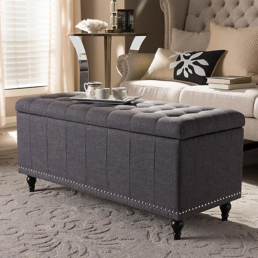 Alternate image 1 for Kaylee Storage Ottoman Bench