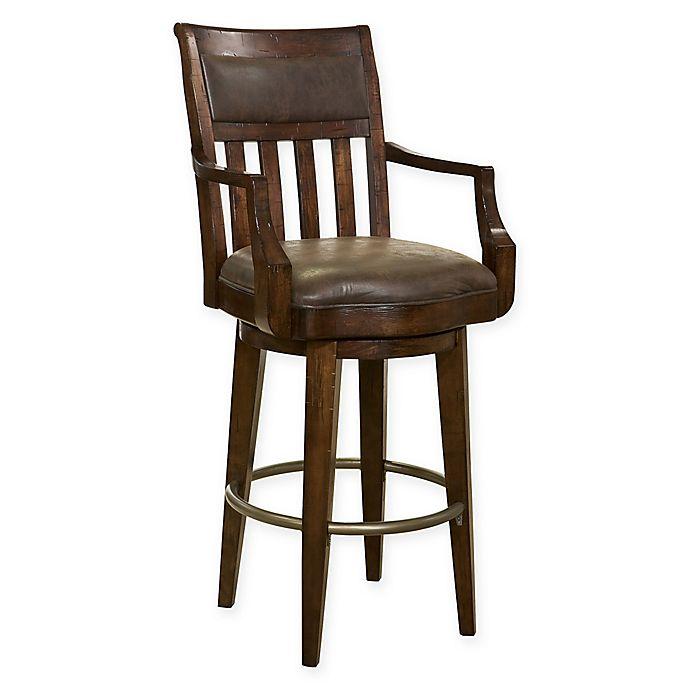 Alternate image 1 for Howard Miller® Harbor Springs Bar Stool in Brown
