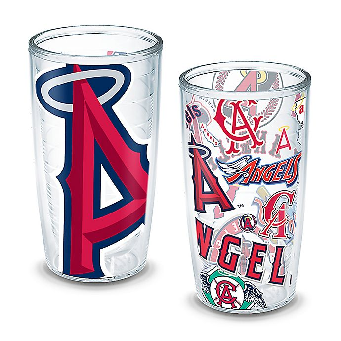 7e912917573 Tervis® MLB Los Angeles Angels All-Over Wrap 16 oz. Tumblers (Set of ...