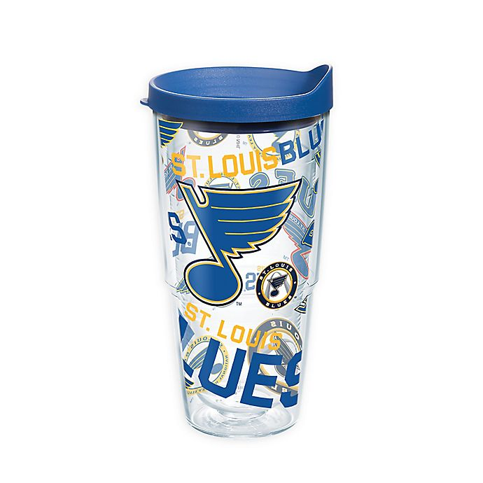 Alternate image 1 for Tervis® NHL St. Louis Blues Wrap 24 oz. Tumbler with Lid