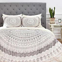 Deny Designs Iveta Abolina Winter Wheat Duvet Cover in Grey