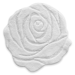 Jessica Simpson 27-Inch x 27-Inch Bath Mat in White