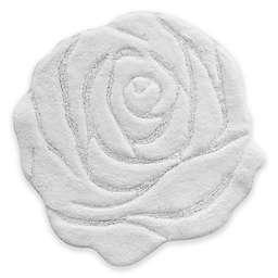 Jessica Simpson 27-Inch x 27-Inch Bath Mat in White