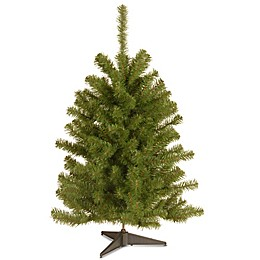 National Tree 3-Foot Eastern Spruce Christmas Tree