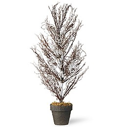 National Tree 28-Inch Flocked Christmas Tree