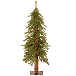 National Tree Company Pre-Lit Hickory Cedar Christmas Tree Collection