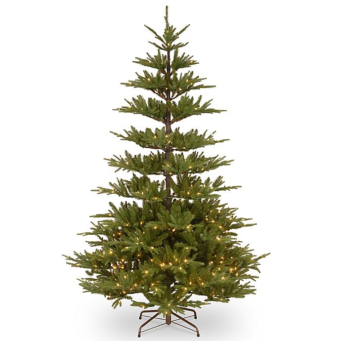 Alternate image 1 for National Tree Company 7.5-Foot Glenwood Fir with Clear Lights