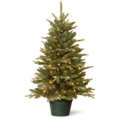 national tree 3 foot everyday collections pre lit artificial christmas tree with clear lights bed bath beyond - Pre Lit Outdoor Christmas Trees