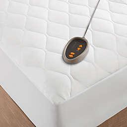 Beautyrest® Microfiber Heated Mattress Pad with 3M Scotchgard
