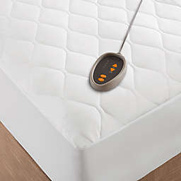Beautyrest® Microfiber Heated Twin XL Mattress Pad with 3M Scotchgard