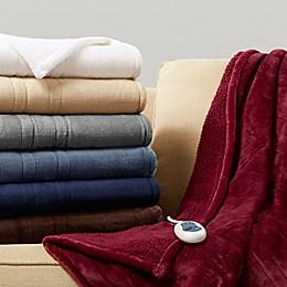 Beautyrest® Microlight Berber Heated Throw Blanket