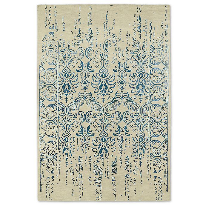 Alternate image 1 for Kaleen Mercery Impressions 2-Foot x 3-Foot Accent Rug in Blue