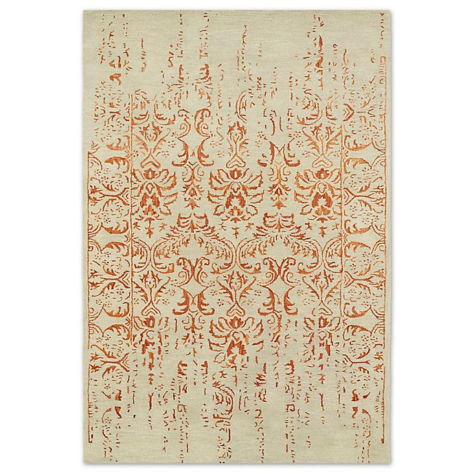 Alternate image 1 for Kaleen Mercery Impressions 5-Foot x 7-Foot 9-Inch Area Rug in Paprika