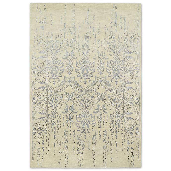 Alternate image 1 for Kaleen Mercery Impressions 8-Foot x 11-Foot Area Rug in Grey