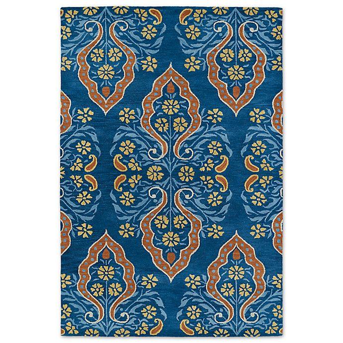 Alternate image 1 for Kaleen Melange Avignon 5-Foot x 7-Foot 9-Inch Area Rug in Blue