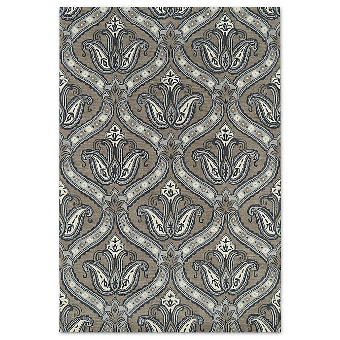 Alternate image 1 for Kaleen Melange Regal 5-Foot x 7-Foot 9-Inch Area Rug in Taupe