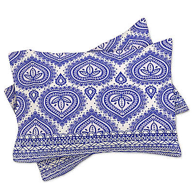 Deny Designs Aimee St Hill Decorative Blue Standard Pillow Sham in Blue