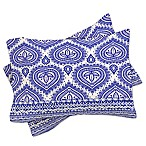 Deny Designs Aimee St Hill Decorative Blue Standard Pillow Shams in Blue (Set of 2)