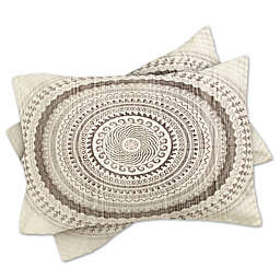 Deny Designs Iveta Abolina Winter Wheat Standard Pillow Sham in Grey