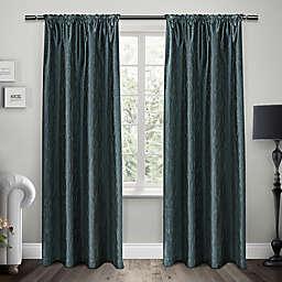 Exclusive Home Saturn Rod Pocket Window Curtain Panel Pair