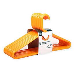 SALT™ Heavyweight Hangers in Orange (Set of 12)
