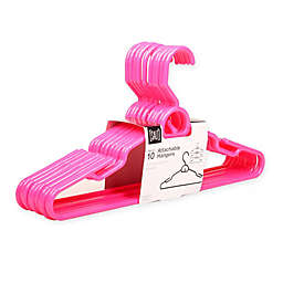 SALT™ Attachable Hangers in Bright Pink (Set of 10)
