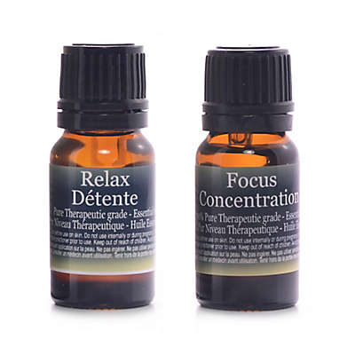 Finesse Focus and Relax Pure Essential Oil Blends