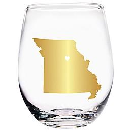 Home Essentials & Beyond Missouri State Stemless Wine Glass