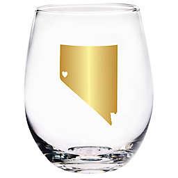 Home Essentials & Beyond Nevada State Stemless Wine Glass